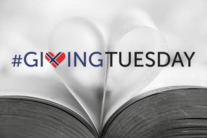 Vi utfordrer alle til å bli med på GivingTuesday
